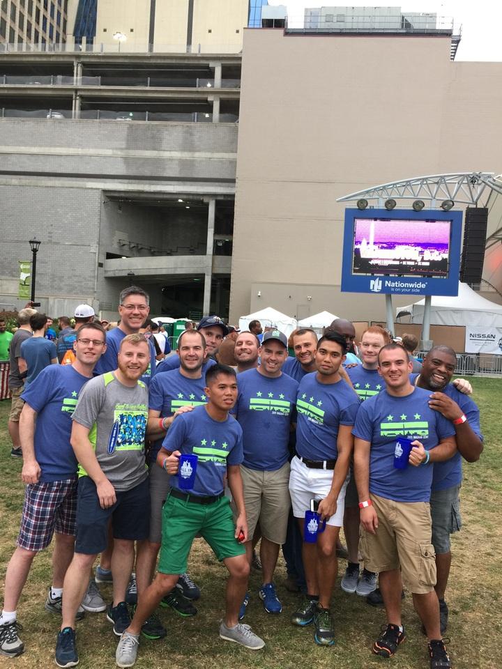 Team Caps At The Gay Softball World Series T-Shirt Photo