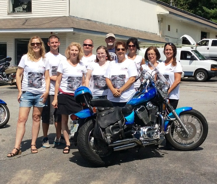 T2 F Motorcycle & Poker Run T-Shirt Photo