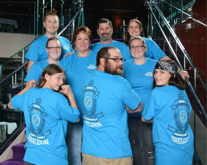Family Cruise 2015 T-Shirt Photo