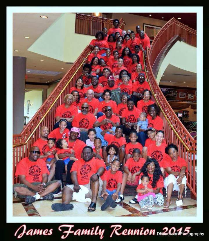 James Family Reunion 2015 T-Shirt Photo