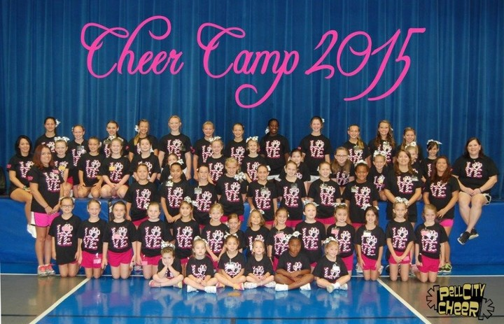 Pc Cheer Camp 2015 T-Shirt Photo