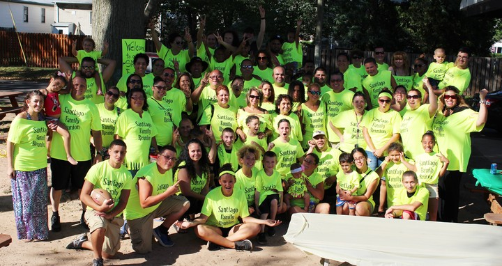 Santiago Family Reunion 2015! T-Shirt Photo