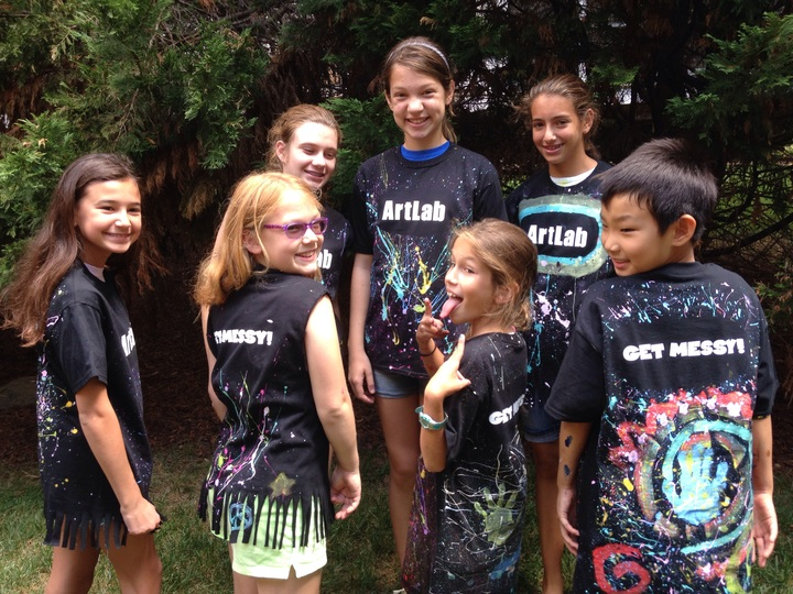Art Lab Kids T-Shirt Photo