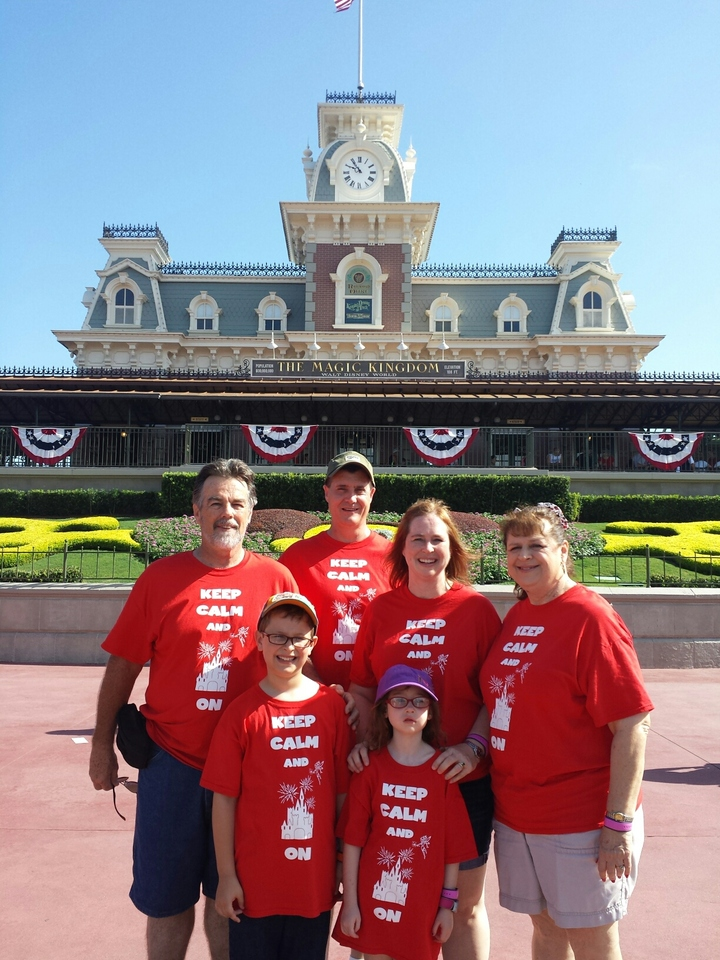 Once In A Lifetime Vacation To Disney World T-Shirt Photo