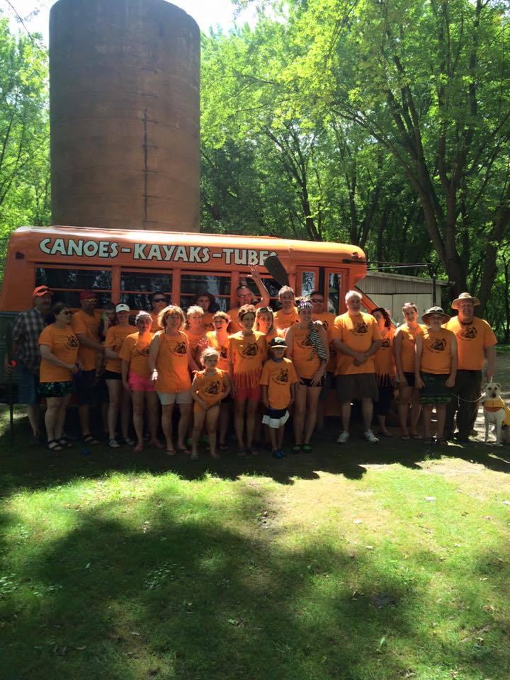 """Family Canoe Reunion """"Canoenion!"""" T-Shirt Photo"""
