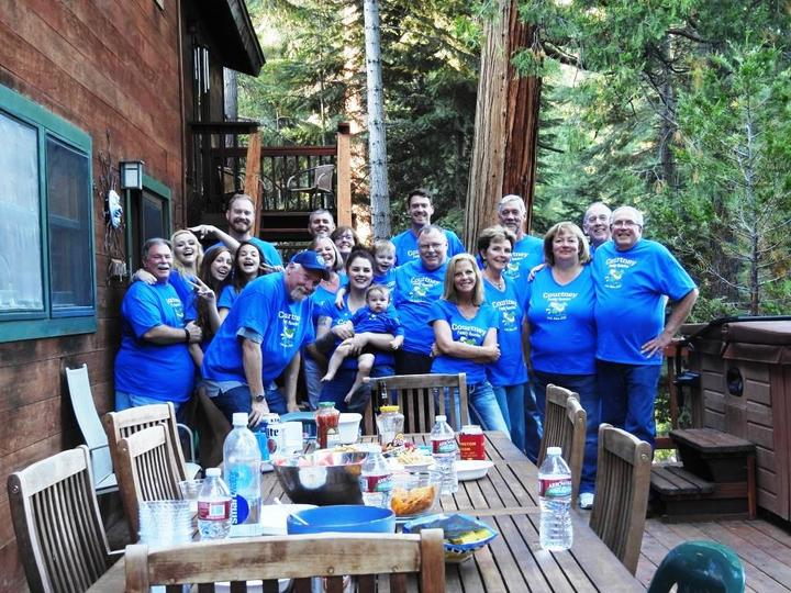 Courtney Family Reunion 2015 Lake Tahoe T-Shirt Photo