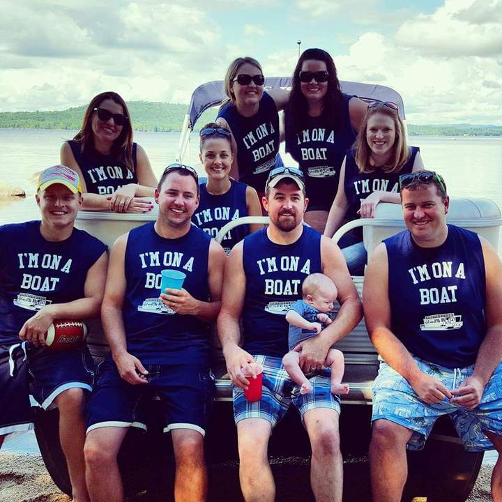 5th Annual Pontoon A Palooza!!! T-Shirt Photo