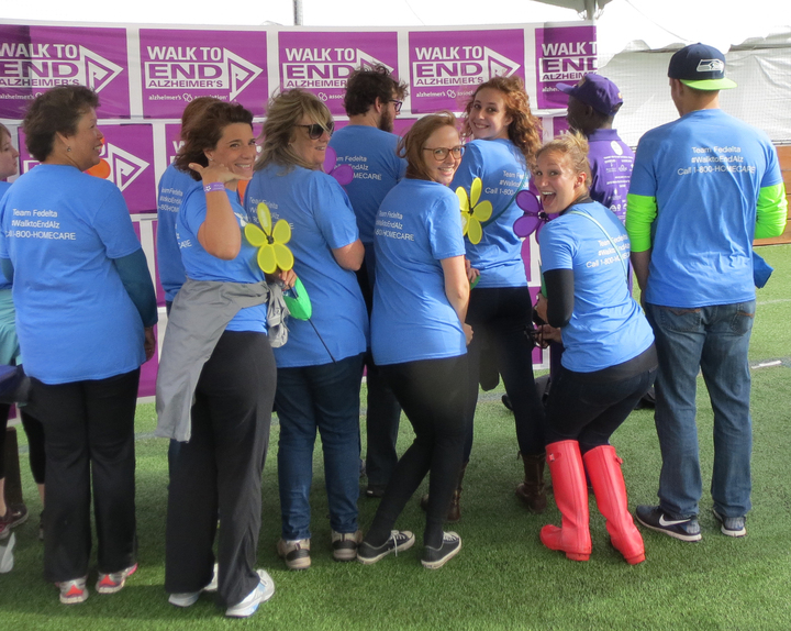 Fedelta Walks To End Alzheimer's T-Shirt Photo