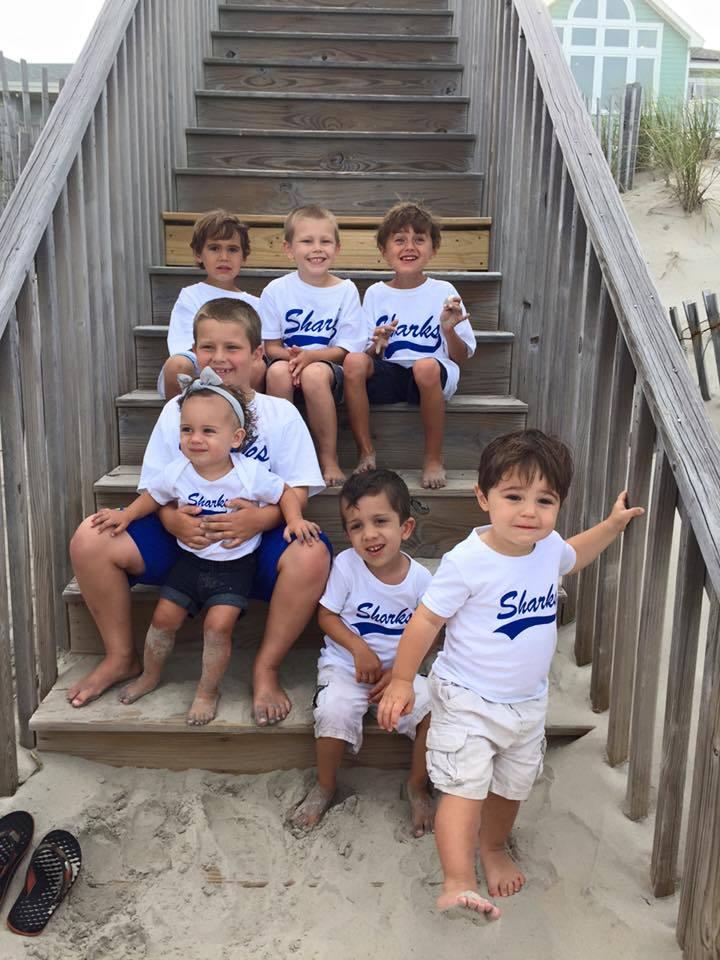 Shark T Shirt For Obx Vacation T-Shirt Photo