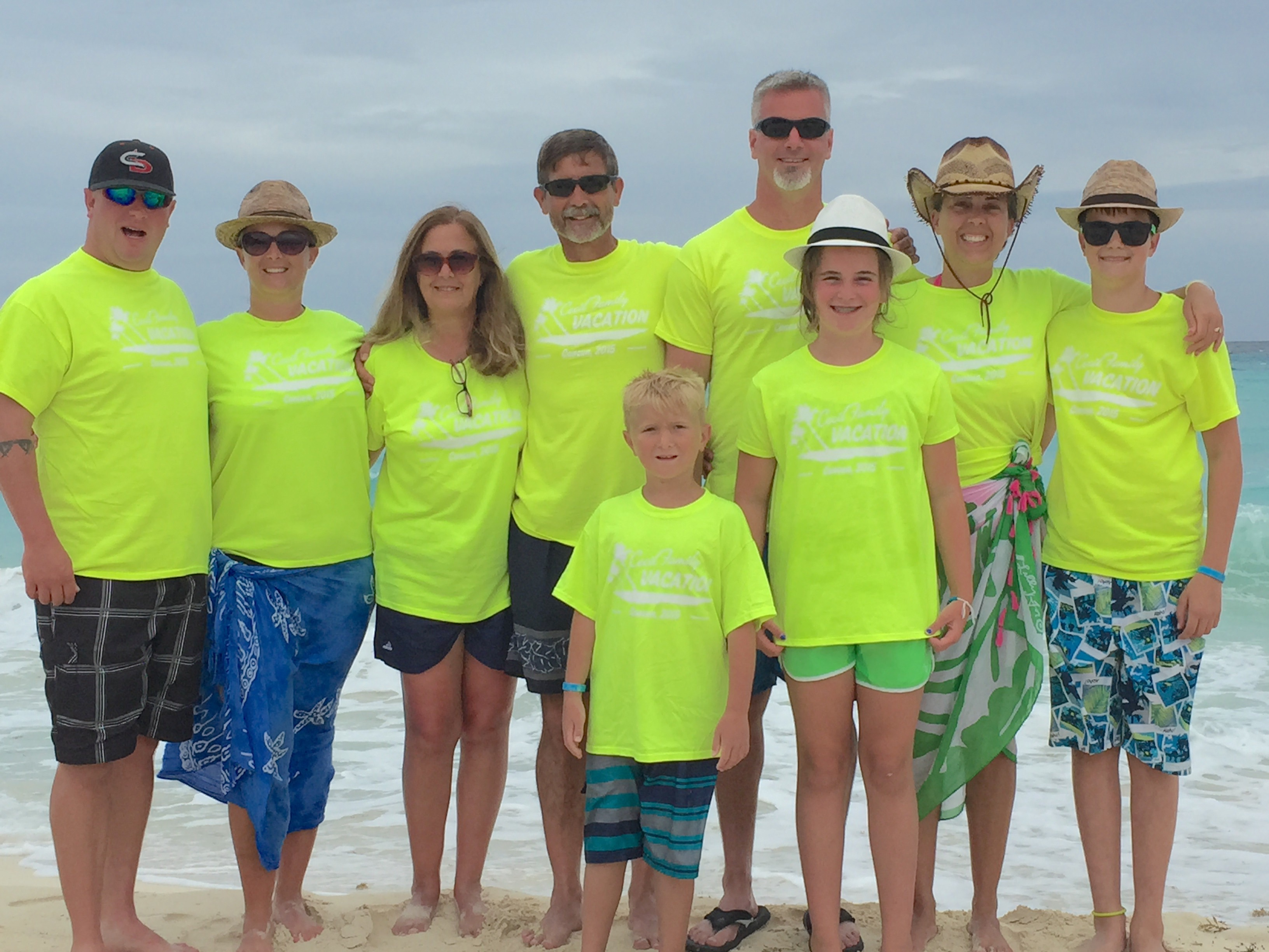 Custom t shirts for cancun family vacation shirt design for Custom t shirts family vacation