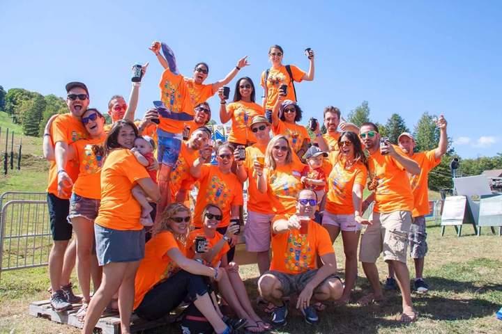 11th Annual Trip   Mt Snow Brew Fest  T-Shirt Photo