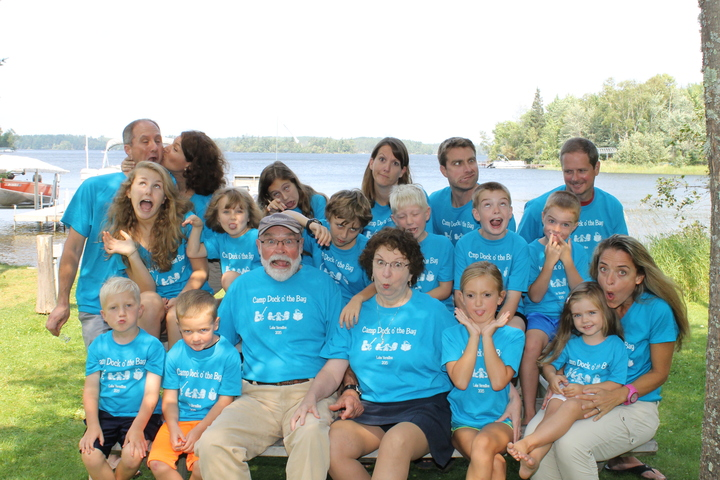 Camp Dock O' The Bay T-Shirt Photo