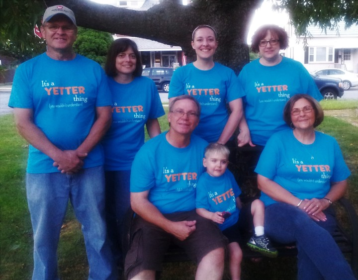 Yetter Reunion T-Shirt Photo