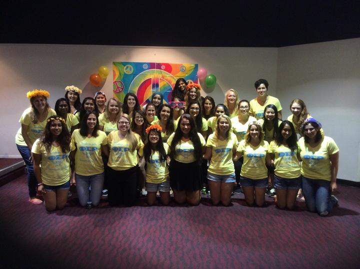 Phi Sigma Rho Fall Recruitment 2015 T-Shirt Photo