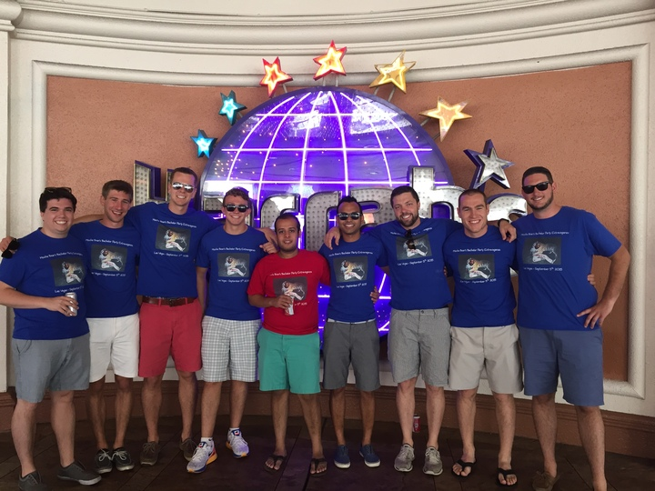 Mocha Bear's Bachelor Party T-Shirt Photo