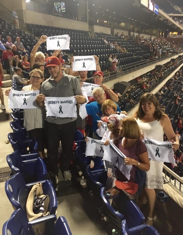 Debby Dasher's Night @ The Phillies T-Shirt Photo