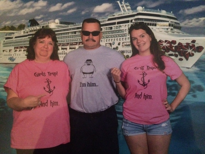 Girls Trip And Him... T-Shirt Photo