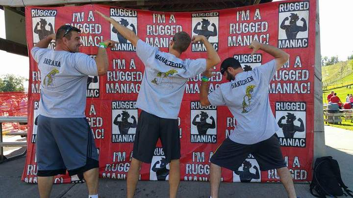 Rugged Maniacs T-Shirt Photo