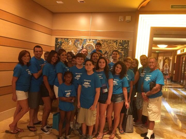 Disney Dream Cruise Wedding T-Shirt Photo