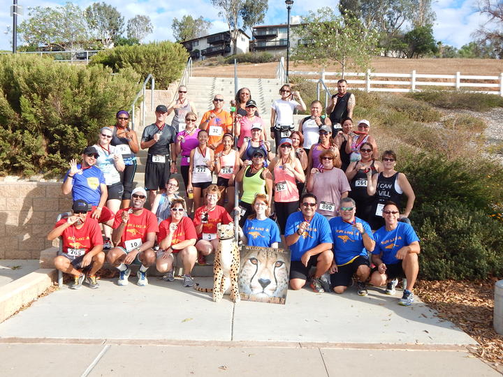 Cheetah Runners Appreciation 5 K Event T-Shirt Photo