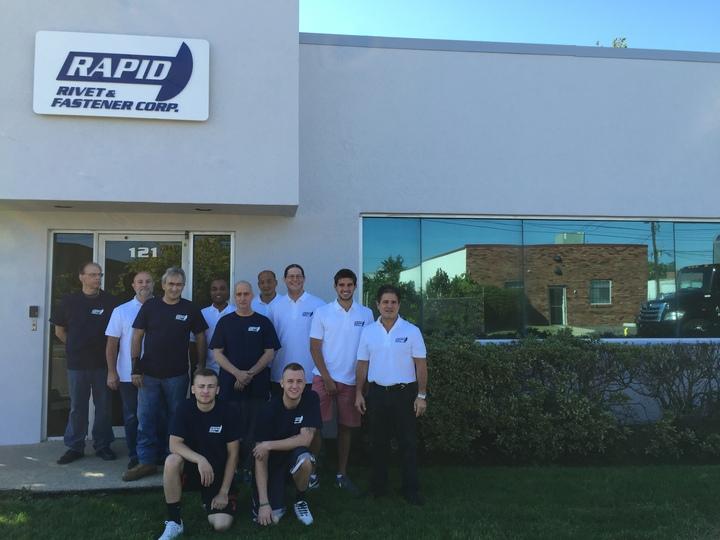 The Rapid Rivet Team! T-Shirt Photo