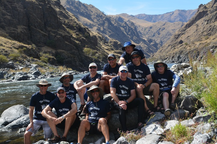The Minyan   Snake River 2015 T-Shirt Photo