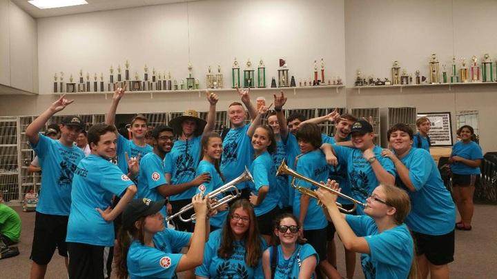 2016 Jwmhs Trumpet Line  T-Shirt Photo