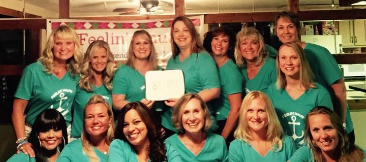 Girls Weekend  At The Lake 2015 T-Shirt Photo