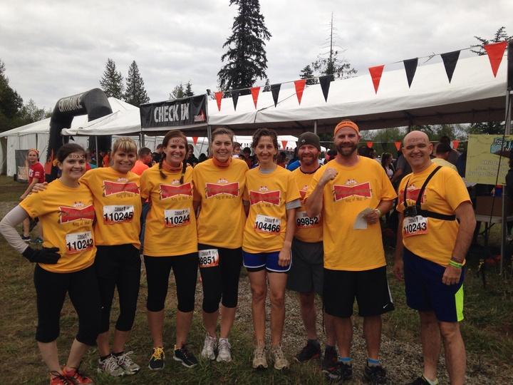 Tough Mudder, Team Muddweiser T-Shirt Photo