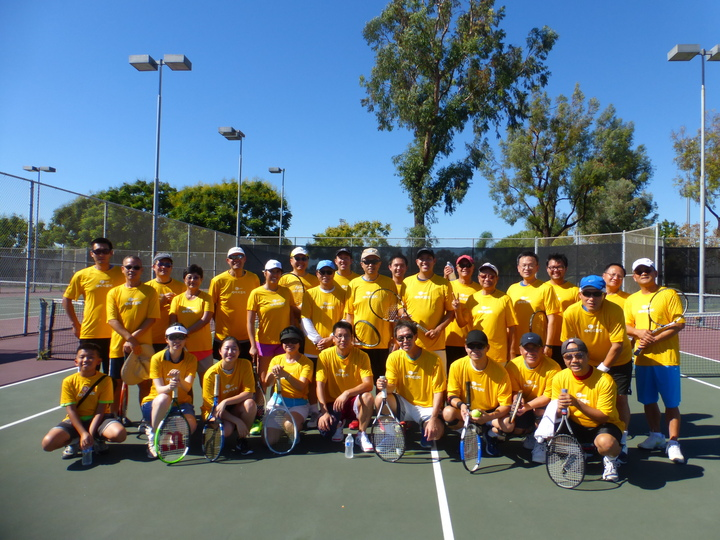 2015 Occec Tennis Tournament T-Shirt Photo