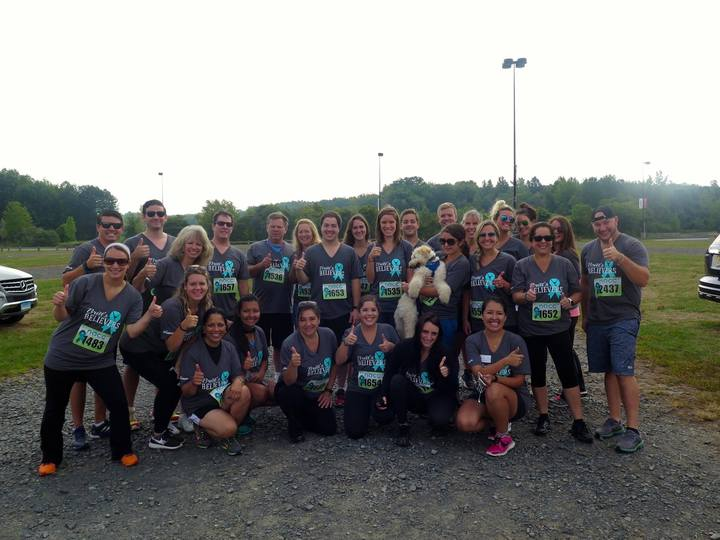 Britt's Believers Breaks The Silence Against Ovarian Cancer T-Shirt Photo