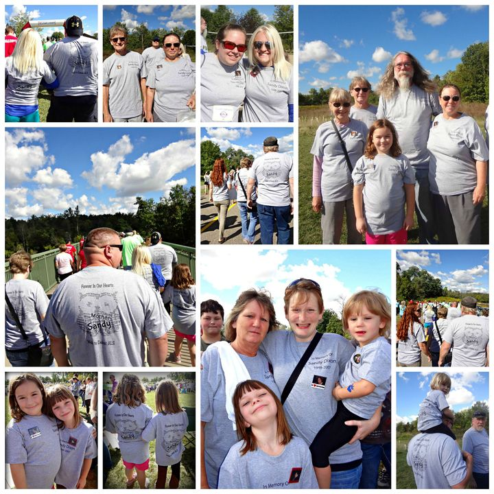 Als Walk Cincinnati 2015 T-Shirt Photo