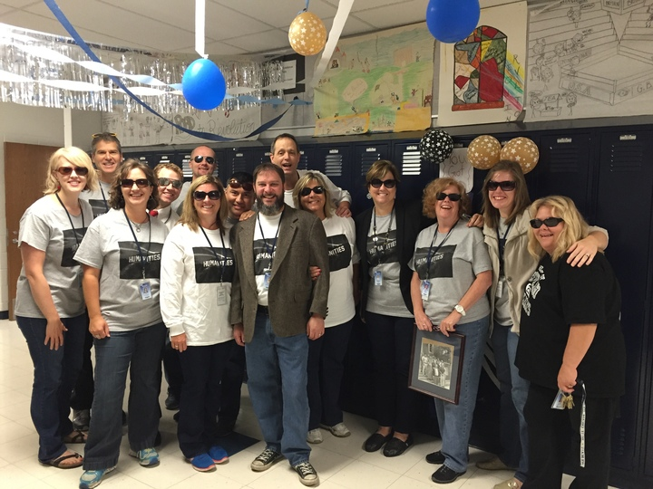 Homecoming 2015 Staff Spirit T-Shirt Photo