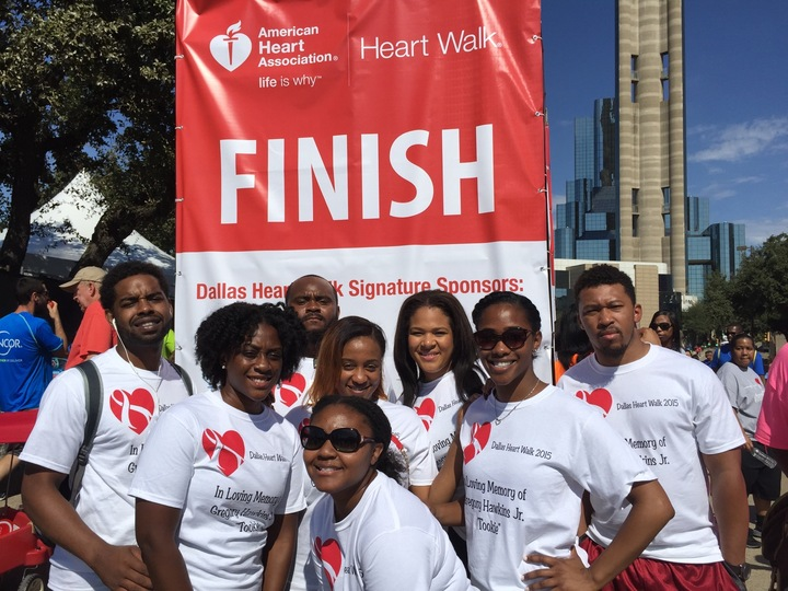 Dallas Heart Walk 2015 (Tookie) T-Shirt Photo