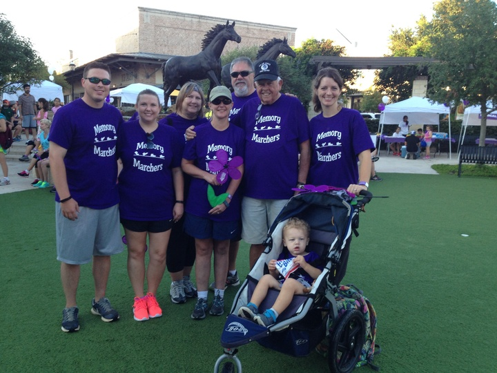 Memory Marchers Fight Alzheimer's  T-Shirt Photo