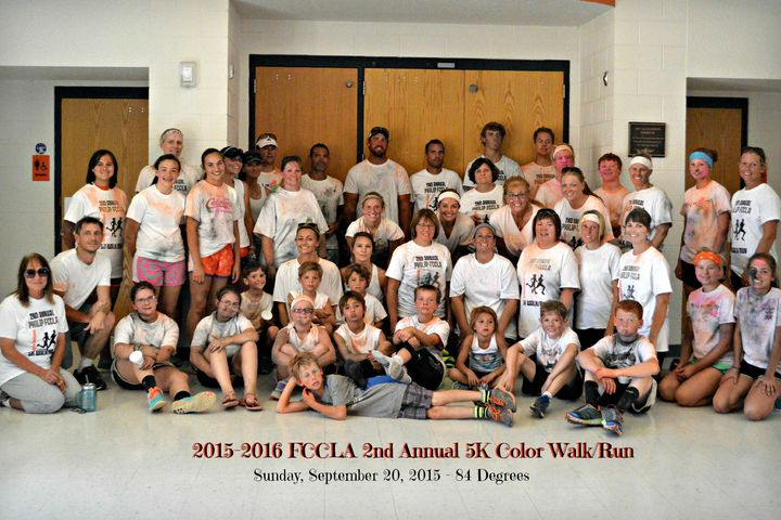 Philip Fccla 5k Color Run T-Shirt Photo