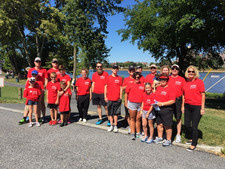 Heart Walk 2015 T-Shirt Photo