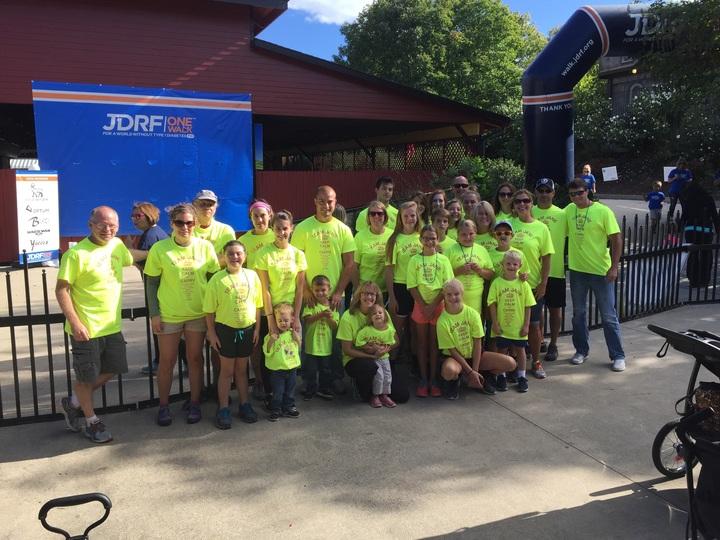Team Jane For Jdrf T-Shirt Photo
