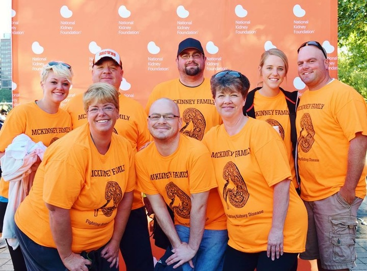 Mc Kinney Family Fighting Kidney Disease  T-Shirt Photo