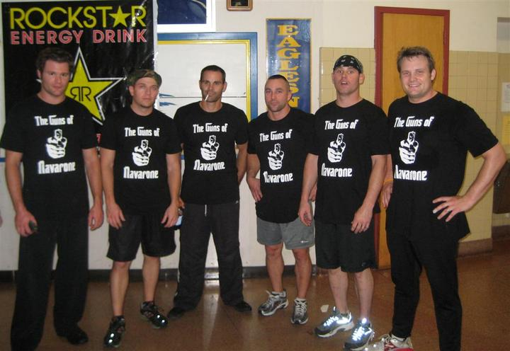 The Guns Of Navarone Dodgeball Team T-Shirt Photo