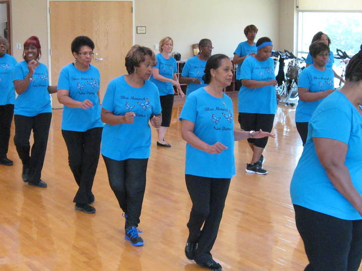 Our Line Dance Class Rocks! T-Shirt Photo