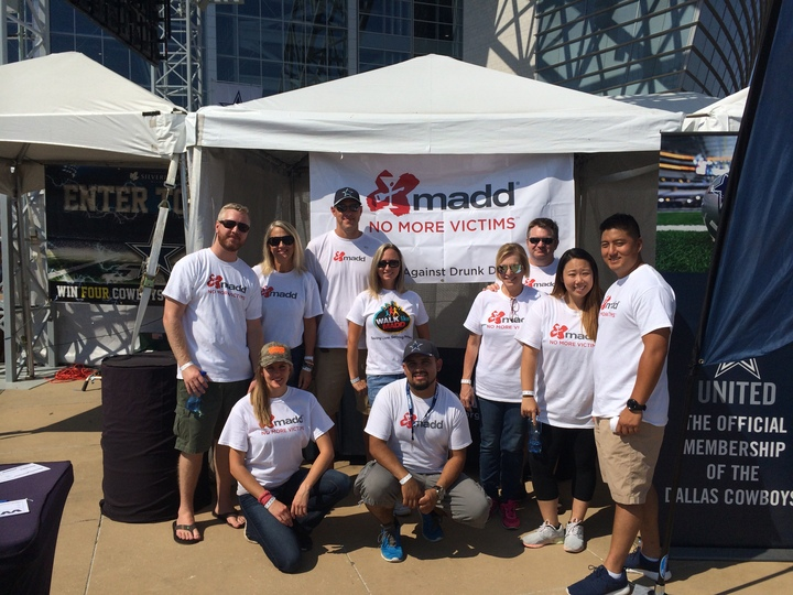 Madd Cowboys Game Volunteers T-Shirt Photo