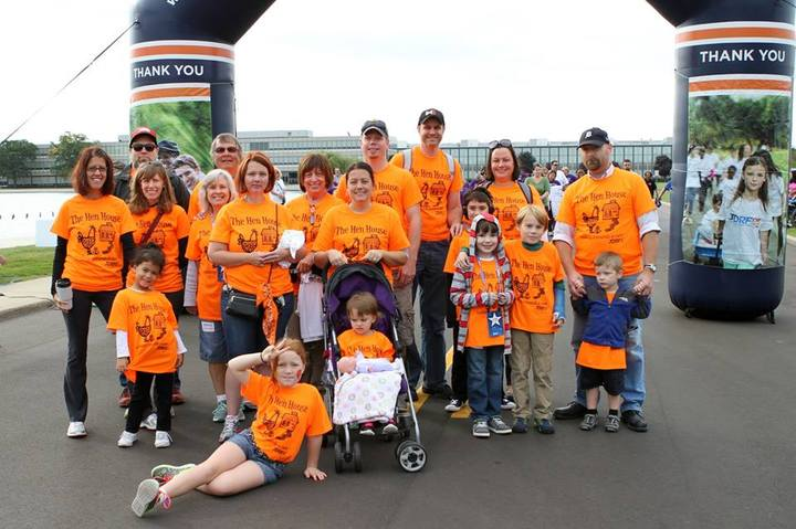 The Hen House Walking For The Jdrf T-Shirt Photo