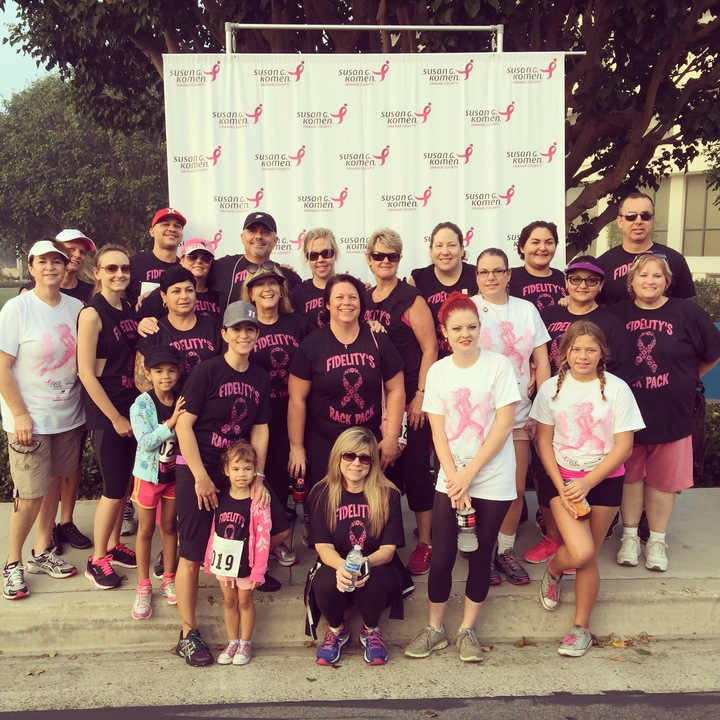 2015 Susan G. Komen Race For The Cure T-Shirt Photo