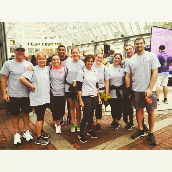 Team Grandma's Potato Salad At The Walk To End Alzheimer's T-Shirt Photo