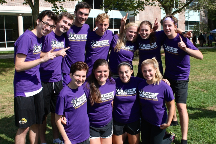 Emerson College Cross Country T-Shirt Photo