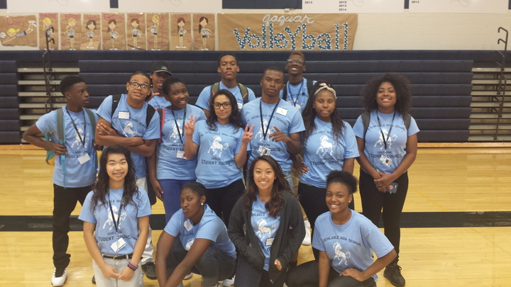 Student Leaders Of Fl Schlagle High School T-Shirt Photo