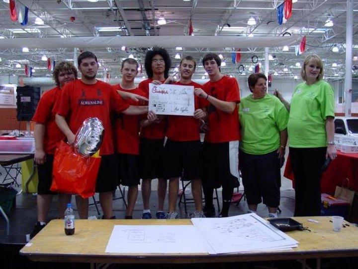 Adrenaline Rush Dodgeball Team T-Shirt Photo