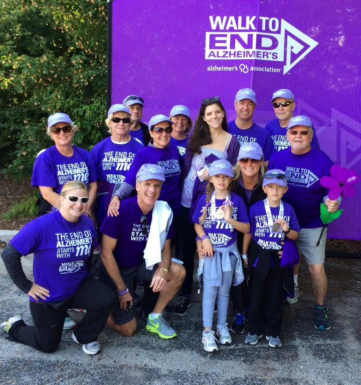 Alzheimer's Walk To End   Team Fore Patti T-Shirt Photo