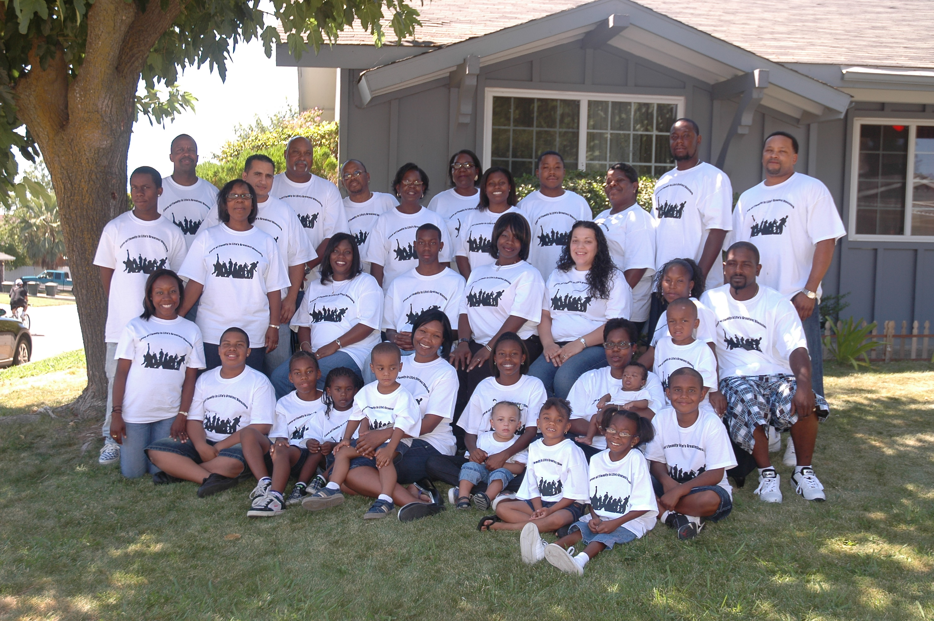 Design your own t-shirt for family reunion - Henry Family Reunion 2008 Sacramento Ca T Shirt Photo